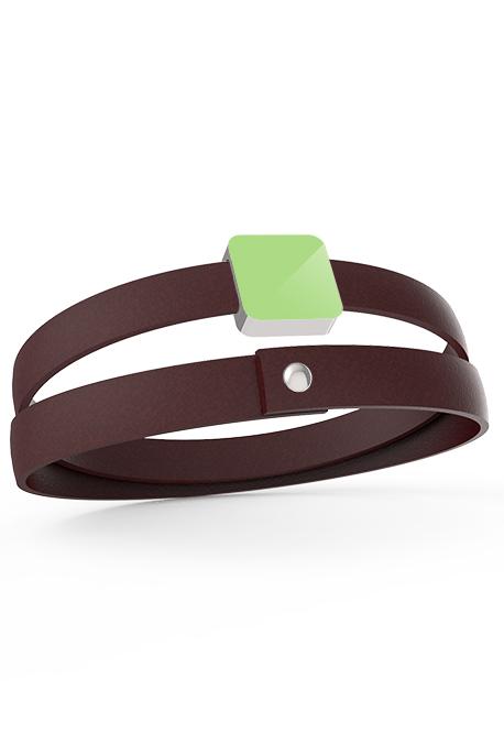 2 laps bracelet 1 Xtile Silver Plated - Image