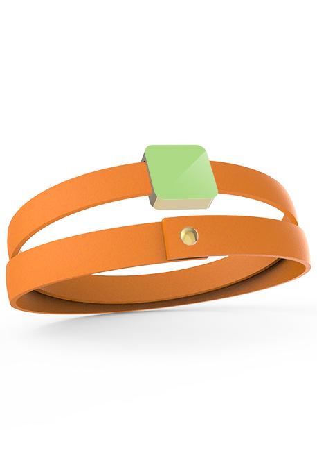 2 laps bracelet 1 Xtile Gold Plated - Image