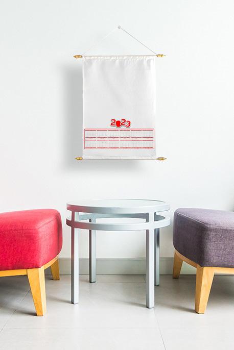 Fabric Calendar - Image
