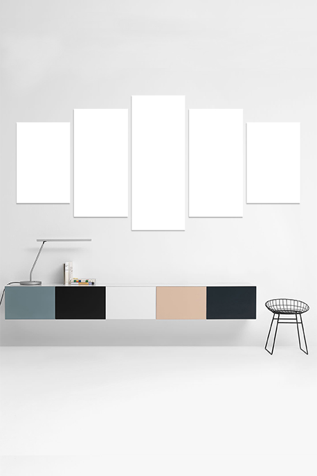 Canvas 5 Medium Frame - Image