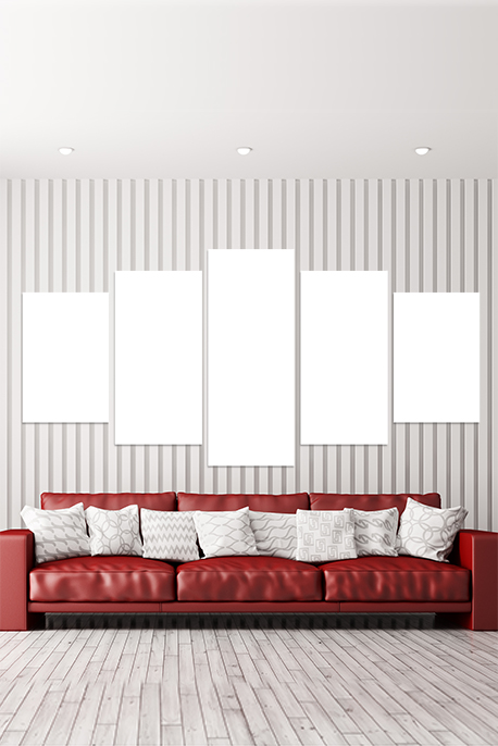Canvas 5 Frame Panel - Image