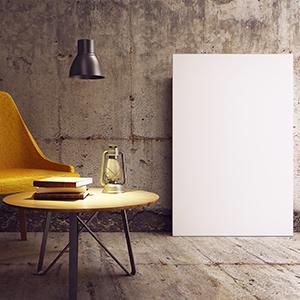 Canvas 60x90 - Mockup