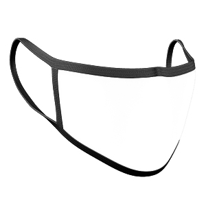 Cloth Face Mask - Mockup
