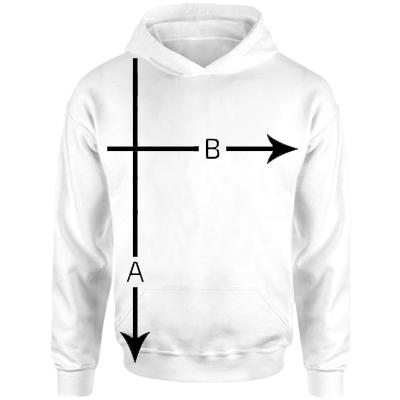 Children's Hooded Sweatshirt Size Guide