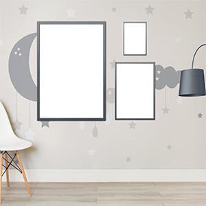 Poster con Cornice 20x30 - Mockup