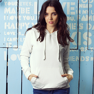 Hoodie Premium Women - Mockup