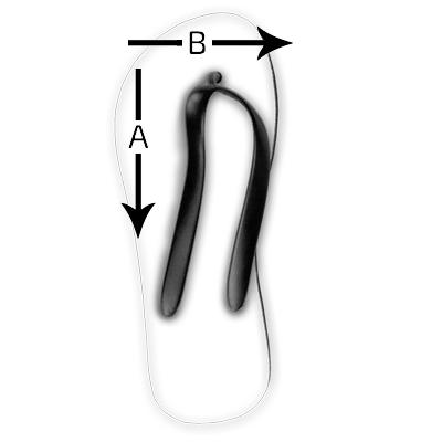Infradito Size Guide