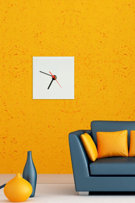 Glass Clock - Image