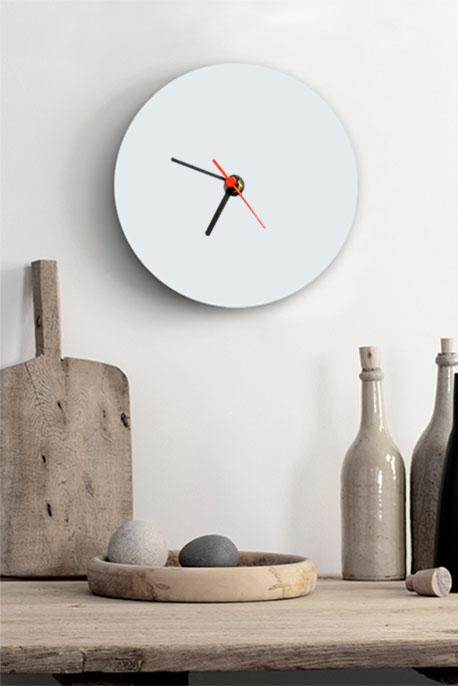 Round Glass Clock - Image