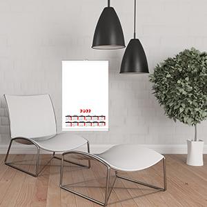 Poster Calendar - Mockup