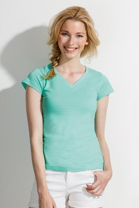 T-shirt Donna Scollo v - Image