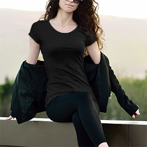 T-Shirt Donna - Mockup