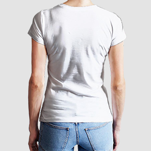 T-Shirt Premium Women - Mockup
