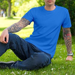 T-Shirt Unisex Large - Mockup