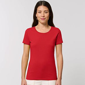 T-Shirt Women Premium Organic - Mockup